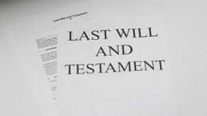 A Last Will & Testament
