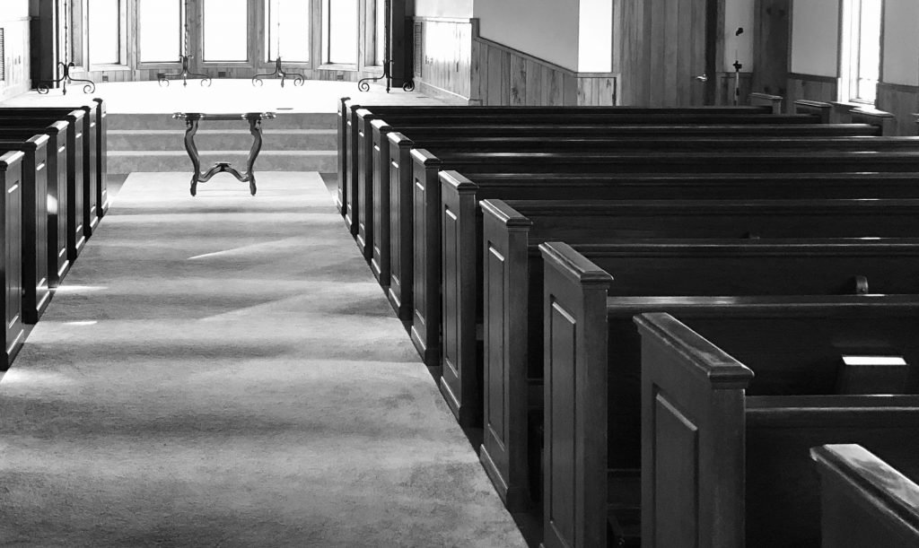 A cemetery's chapel can be booked privately to hold a DIY funeral service, without a funeral director.