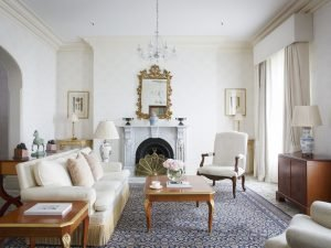 Splash out and stay in the Royal Suite at Melbourne Windsor Hotel.