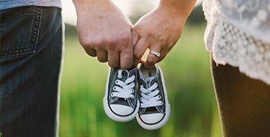 Taking hand and foot moulds or prints can help parents to cherish a baby's short life after death.
