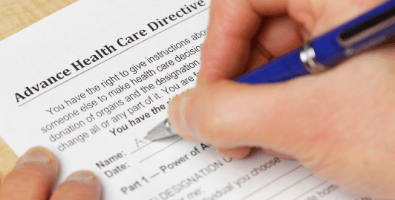 An Advance Care Directive allows you to outline your wishes for future medical care and end-of-life treatment.
