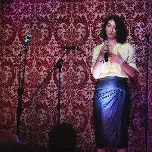 Founder of The Grief Cocoon, Gabriela Georges uses poetry and performance as a way to express grief and loss.