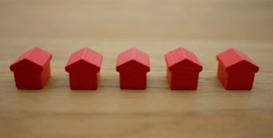 Real estate property as part of deceased estates.