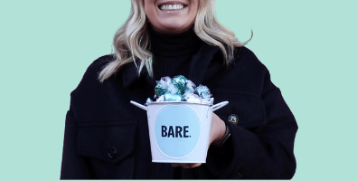Our Bare gift buckets of chocolate can be reused