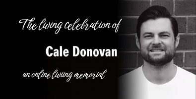 Cale's living funeral was a chance to celebrate his legacy while he was still alive